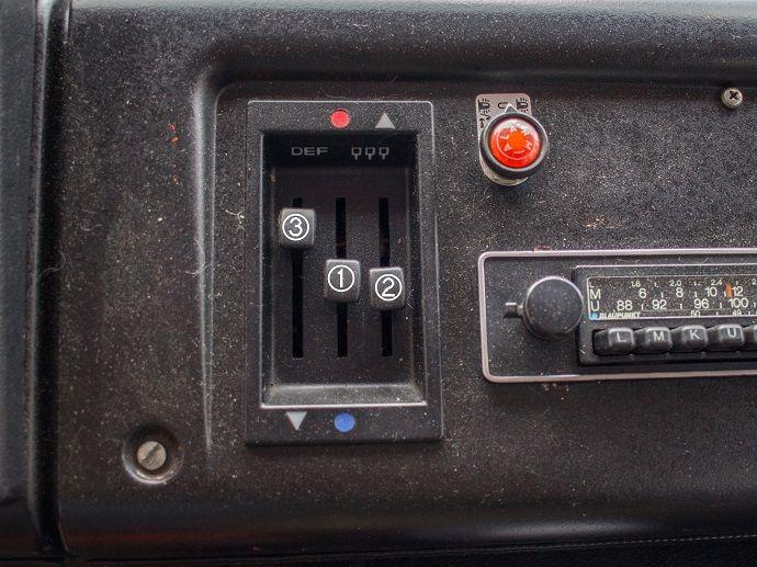 Mercedes Benz 407 D Düdo T2 Heizung einstellen bzw. regulieren