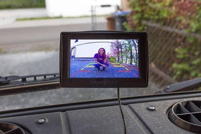 Wohnmobil Rückfahrkamera nachrüsten Erfahrung Campervan Kamera Funk Düdo Mercedes 407 D