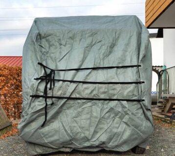 wohnmobil winterfest machen düdo plane winter campervan einpacken