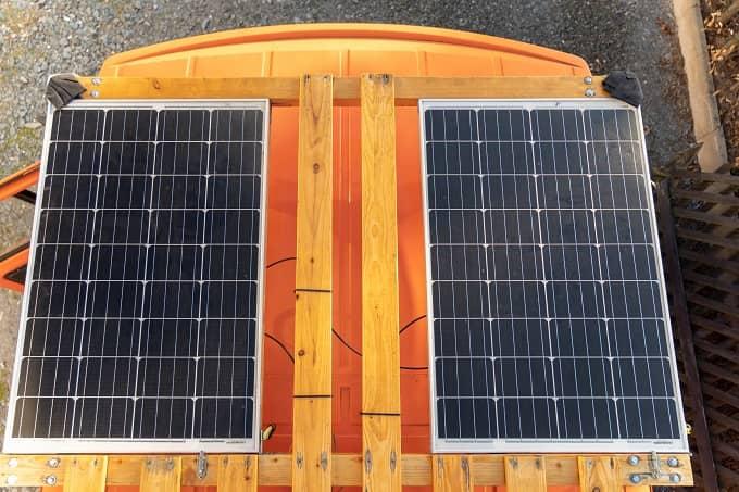 Wohnmobil Elektrik Batterie laden über Solar - Camper Elektrik